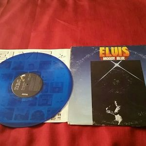 Moody Blue Elvis record
